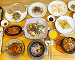 Hoengseong mountain herb roots cuisines